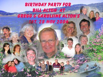Bill's birthday party