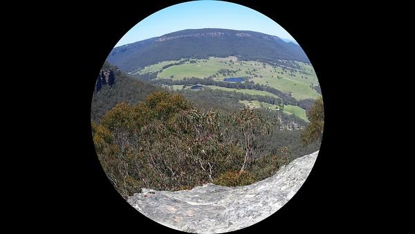 Pulpit Rock Lookout,  Mount Victoria, NSW -Australia