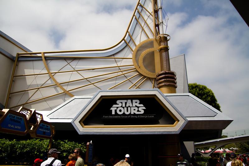 Star Tours Facade