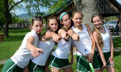 2015 BBA Varsity Girls Tennis vs MAU photos by Gary Baker