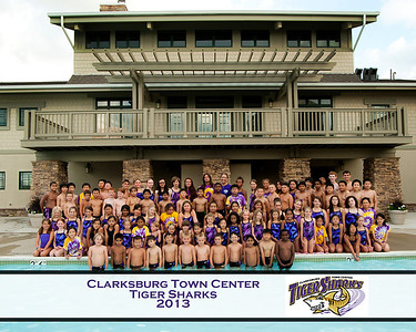 Tiger Sharks Team Picture 2013