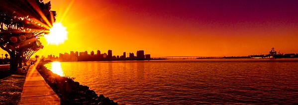 PPS - Sunrise over San Diego Harbor - Oct 3, 2019
