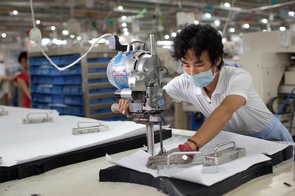 TAL Group Garment Factory in Qingxi, Dongguan, China