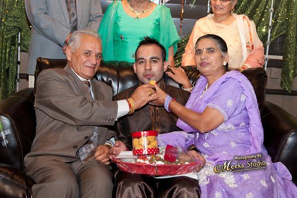 Sandeep and Amol Shagun Pictures