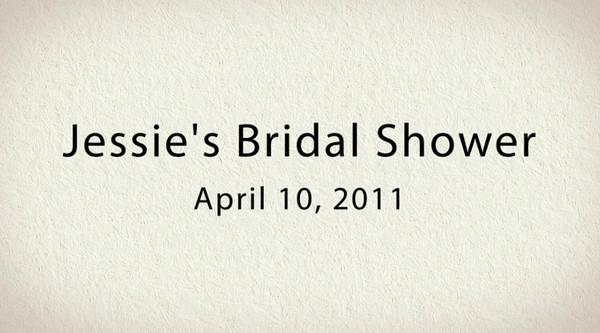 Jessie Bridal Video