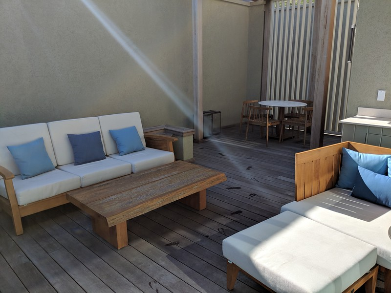 The rest of our patio. We needed to share with some people.