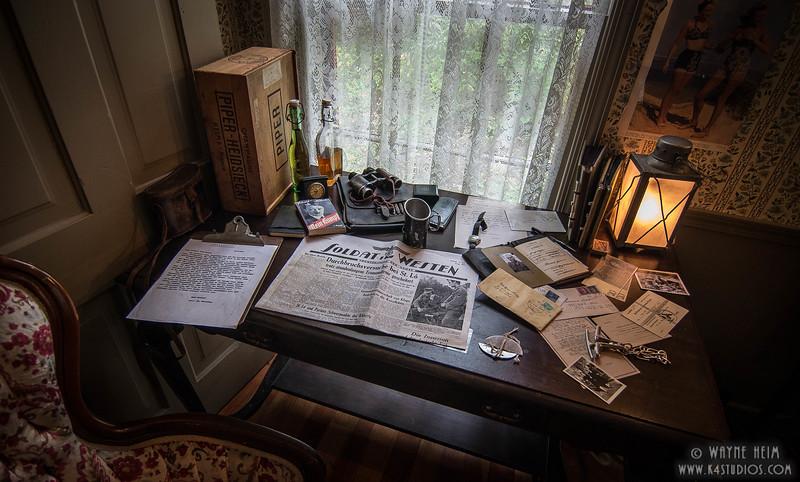 Captain's Desk  - Photography by Wayne Heim