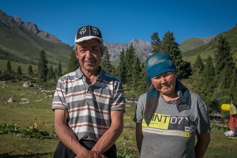 Danik and Yrskul the shepherds of Eki Chat