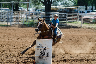 Saturday Barrel Racing Old Settlers 123rd.