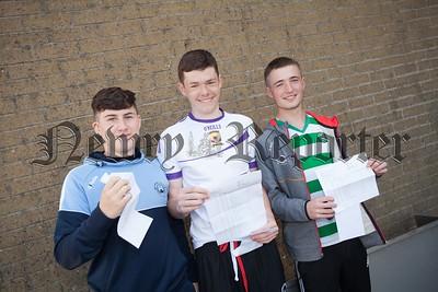 Ronan Gallagher, Shane Annett and Conall Gallagher. R1635014