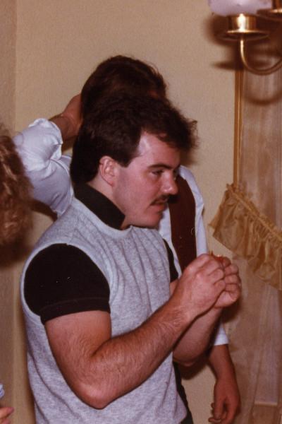 June 83  after Atkinson wedding reception. Mike Boyle