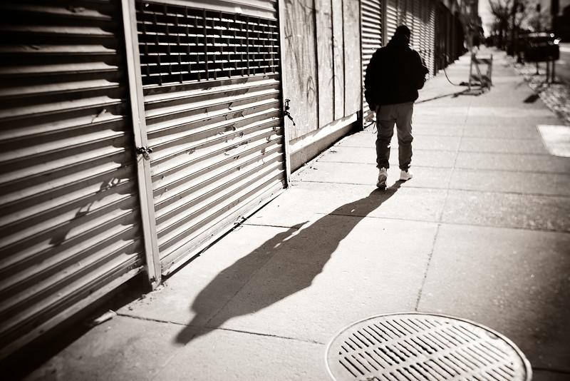 Walking Down the Street---Philadelphia, PA