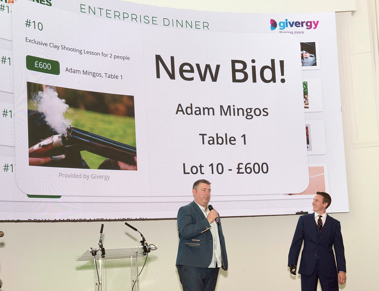 Enterprise Dinner 5th June 2019