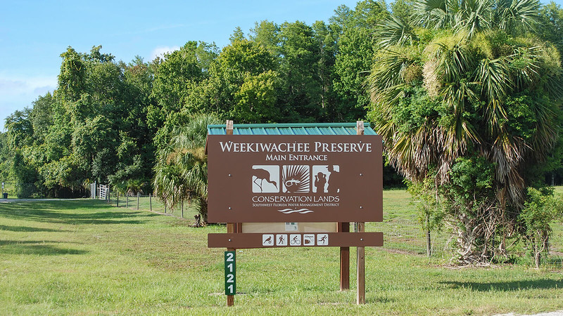 Weekiwachee Preserve sign
