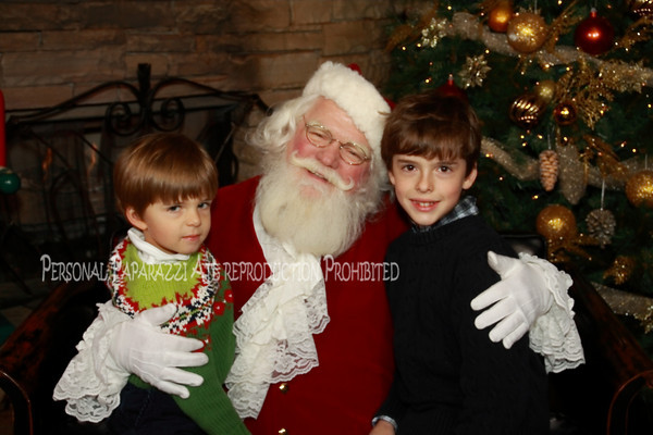 Park Tavern 2010 - Jackson Elementary With Santa