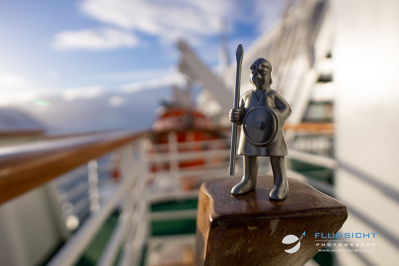 March 2019: On evening guard on MS Vesterålen, Norway