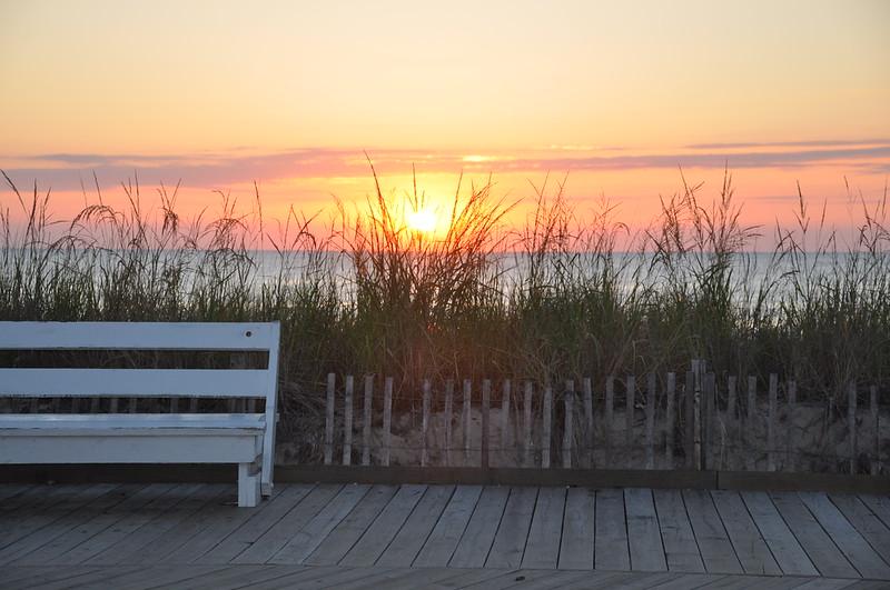 Sunrise on the last day