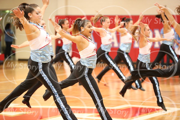 Scenes from a Pep Rally Sept. 2107