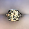 1.88ctw Platinum Filigree Solitaire Ring by C.D. Peacock, GIA S-T, VS 20