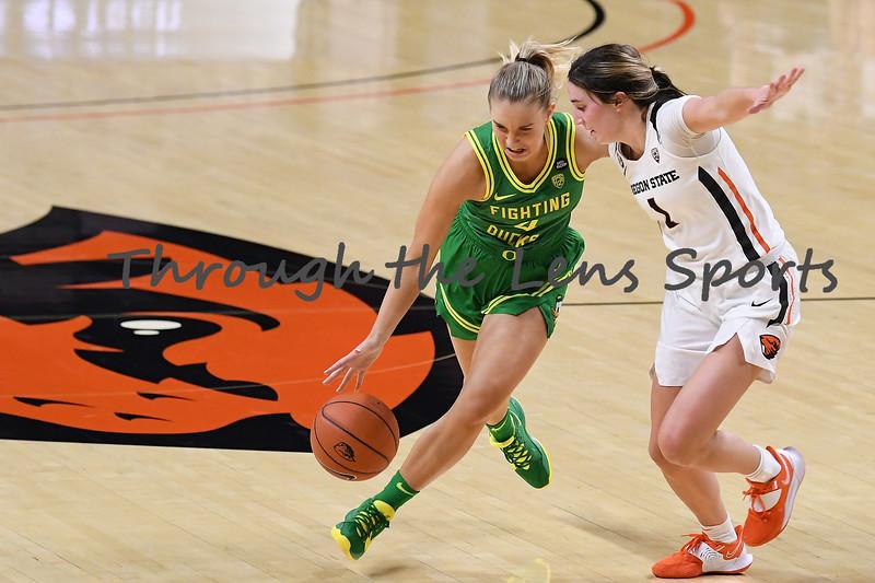 Oregon vs. Oregon State Women's College Basketball