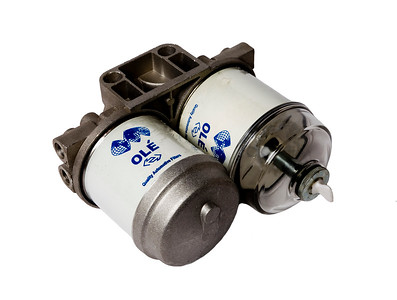 GENERAL PUROSE DOUBLE FUEL FILTER HEAD WITH FILTER