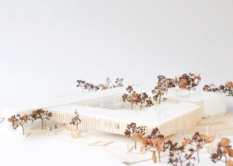 Maquette - DMA architectes - Lauréat Lab-École - Gatineau