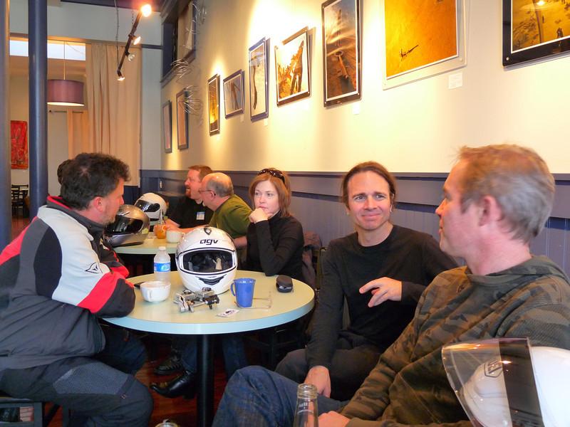 Camaraderie and good coffee
