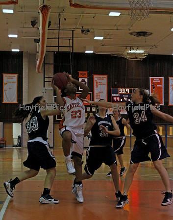 Girls Basketball Washington & Lee 2/18/10