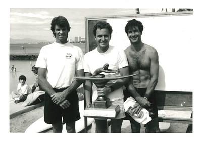 11th Annual Waikiki Winter Ocean 10K PB Race 12-26-1988