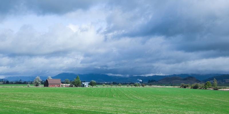 Oregon I-5 Farm