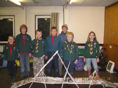 2008-11 Cub Camp at Barnswood with 99th Berry Hill