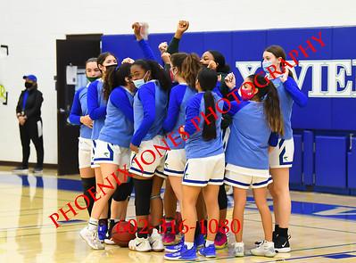 3-12-2021 - Xavier v Mesa - Girls Basketball