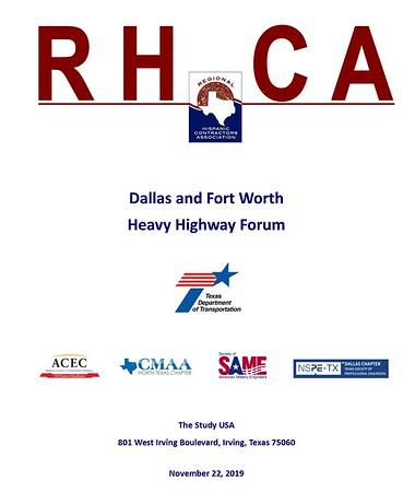 DFW Heavy Highway Forum 11 22 19