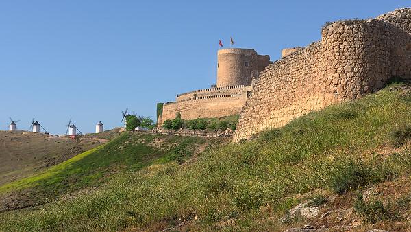 Avila, Segovia, and Consuegra