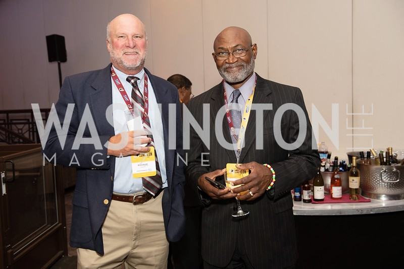 Rich Milot, Michael Nelms. Photo by Yasmin Holman. Washington Redskins Lunch. Washington Hilton. 08.28.19