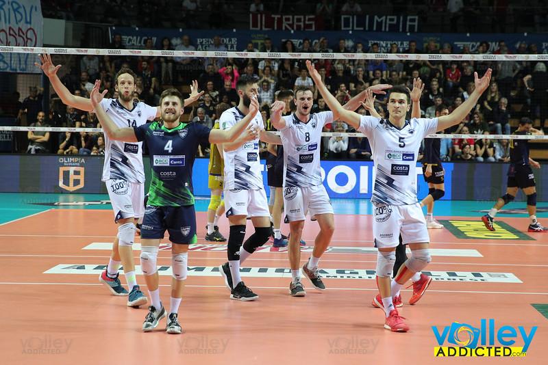 Olimpia Bergamo 3 - Pool Libertas Cantù 3 Gara 3 Semifinale PlayOff Promozione Serie A2 Maschile Credem Banca 2018/19 Bergamo - 25 aprile 2019