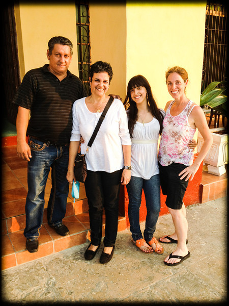 My family - Teodoro, Dorita, and Melissa