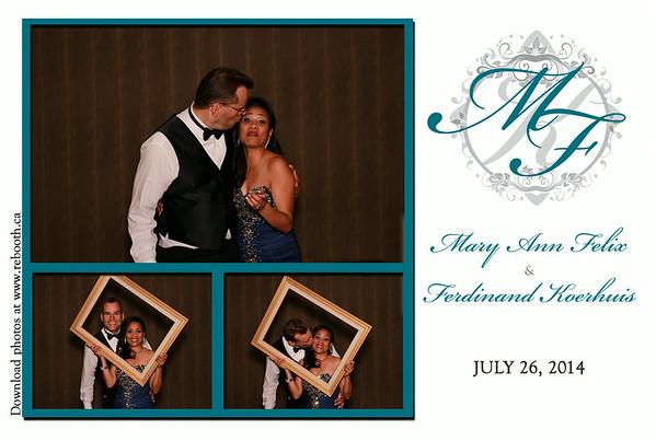 Mary Ann & Ferdinand Wedding