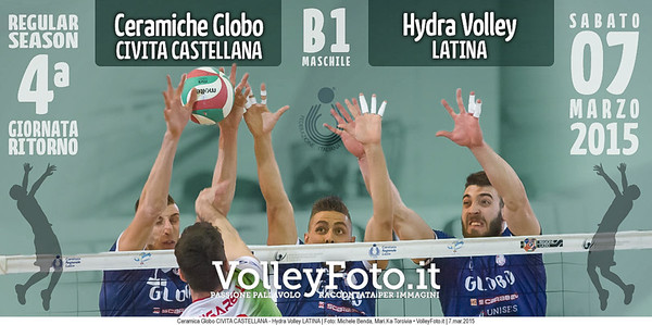 Ceramica Globo Junior Volley CIVITA CASTELLANA - Hydra Volley LATINA