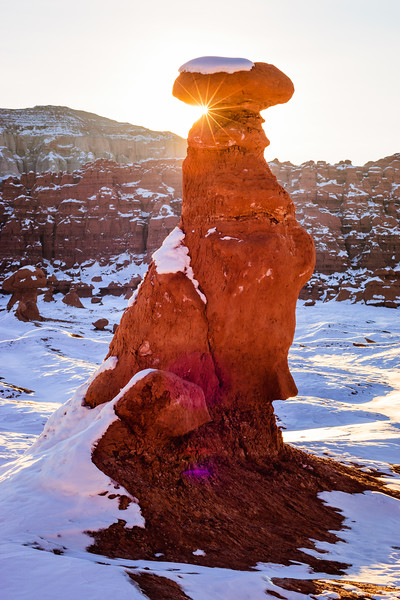 goblin valley snow sunrise 2.JPG