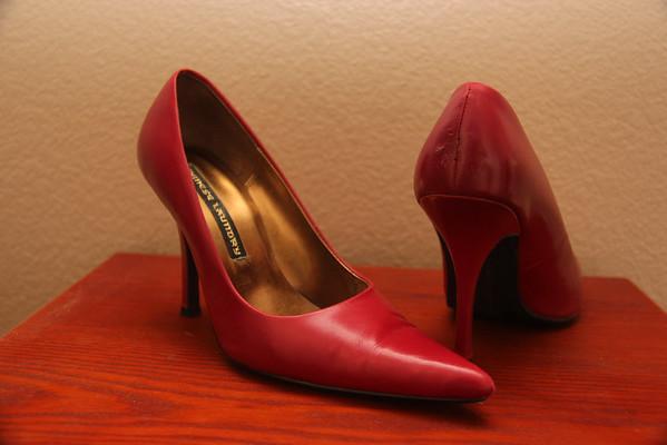 Size 7  -  7.5 High Heels