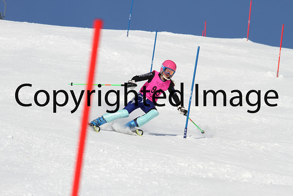 U14-U12-U10 Ladies Slalom 2/10 Run 1