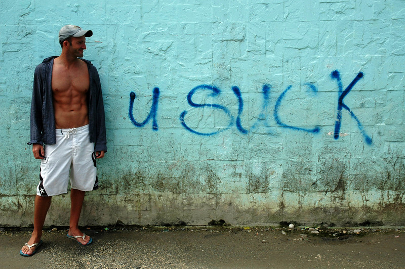 Inspirational Graffiti, Boracay Philippines