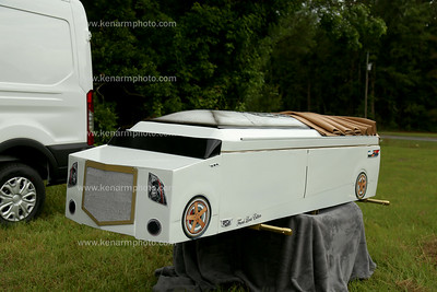 Frank Lucas casket design