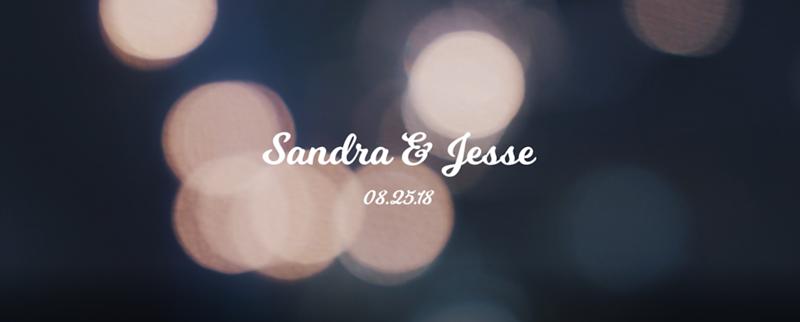 Sandra & Jesse's Wedding 8-25-18