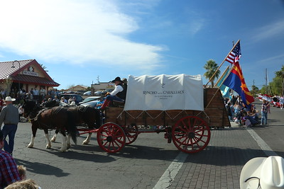 Gold Rush Day Parade Wickensburg Az
