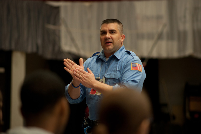 Tom Bowen, a New York firefighter who served under FEMA and the USAR (Urban Search and Rescue) at the World Trade Center following the attacks on Sept. 11, 2001 speaks in Dimensions.