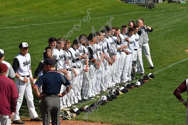 Brandywine vs Berks Catholic High School Baseball 2017 - 2018