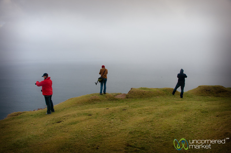 Photographs at the Tobhta Uachdrach Cliffs - Isle of Skye, Scotland