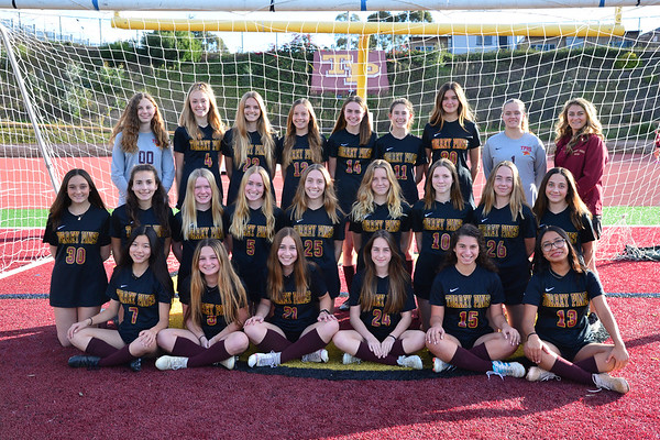 TP Freshman Girls Soccer Team, 12-17-19